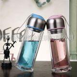 玻璃杯双层盖子COCO玻璃杯盖玻璃瓶