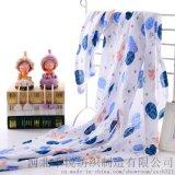 廠家直銷純棉紗布新生兒襁褓巾 雙層紗布大包巾蓋毯