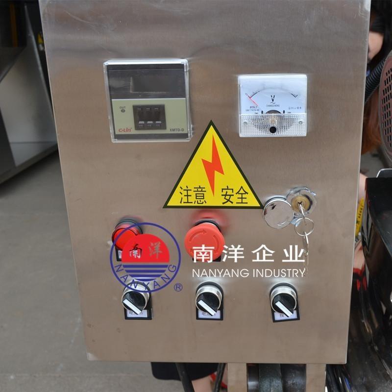 不锈钢可倾式电加热搅拌炒锅辣椒酱蒸煮夹层炒锅炒料机