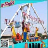 游乐园的热销款游乐设施海盗船大型户外陆地游乐设备