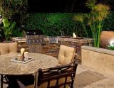MR.tong 花園生活 體會戶外燒烤樂趣的燒烤臺 別墅燒烤臺