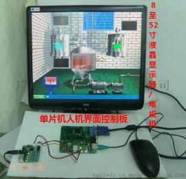 VGA顯示單片機控制方案, 單片機VGA顯示板,VGA顯示控制板,VGA主板