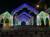 LED造型灯拱形门造型