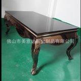 KTV不锈钢茶几造型 厂家批发不锈钢茶几 家居不锈钢餐桌定制加工