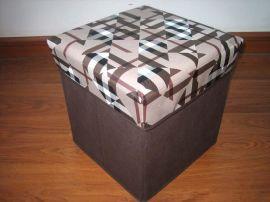 多功能可折叠休闲储物凳(D-026)