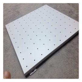 工程氟碳鋁單板 定制2毫米氟碳全衝孔鋁單板幕牆安裝