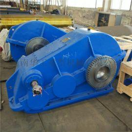 空心套轴减速机ZQ500卧式卷筒起升减速器立式减速