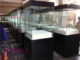 博物馆中岛柜、博物馆独立柜、博物馆展示柜设计制作厂家