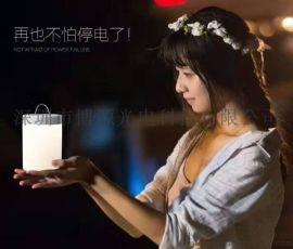 禮品創意小夜燈觸摸充電led調光氛圍拍拍燈廠家