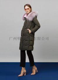国内品牌羽绒服 品牌女装折扣店加盟 品牌剪标