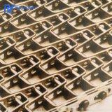 板式網帶馬蹄鏈,不鏽鋼板式網帶馬蹄鏈,可定製板式網帶馬蹄鏈