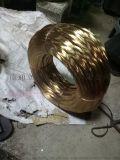 大量生產供應0.7mm高強度鍍銅線 鍍黃銅鋼絲