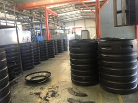 小塑料一体化污水处理设备_塑料净化槽