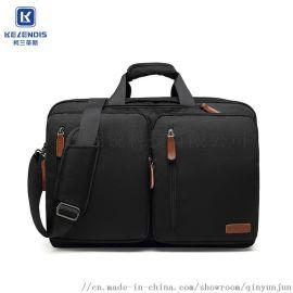 双肩包男士商务多功能出差电脑旅游大容量手提旅行包