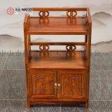 紅木茶櫃中式仿古餐邊櫃純實木刺蝟紫檀小茶櫃檀明宮儲物櫃碗櫃