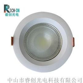 睿创光电COB筒灯,2.5寸白色台阶LED筒灯