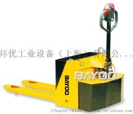 BAYOO/拜优半电动托盘搬运车|电动搬运车