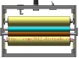 卷筒纸印刷机专用双面除尘轮/粘尘设备