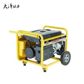 感恩大泽动力5KW汽油发电机 TO6500ET 单三相220V 380V遥控便携式