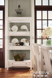 环美家居美式家具休闲美式成套餐桌椅木质家具时尚