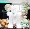 昆明花語花香氣球壽宴氣球寶寶宴氣球生日宴氣球派對