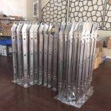 厂家加工家用式不锈钢豪华雕花楼梯扶手立柱