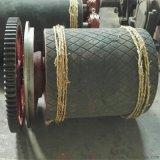 630*1150同步齿轮驱动滚筒 菱形铸胶驱动滚筒