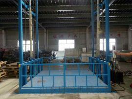 清远市液压式货梯货运电梯载货装卸平台高空升降机