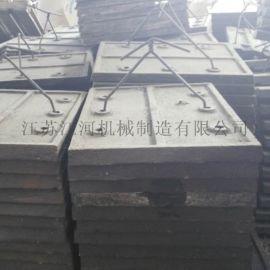 内蒙古无螺栓衬板 合金耐磨衬板 江苏江河机械