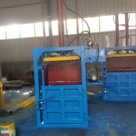废纸金属秸秆服装打捆机定制 30吨液压打包机