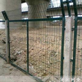 **厂家定制高速公路铁路护栏网 双边丝围栏