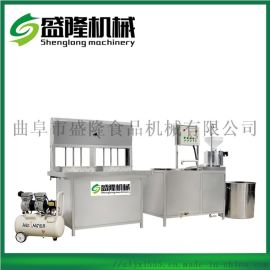 辽宁沈阳小型半自动干豆腐机 花生豆腐机商用