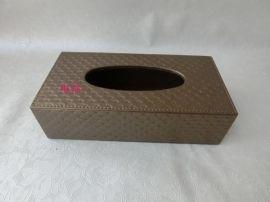 酒店宾馆家用皮革纸巾盒酒店餐巾抽纸盒面纸盒创意车用纸抽盒定做