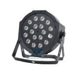 18颗3W RGB 扁平帕灯LED塑料舞台小帕灯