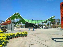 标志性大门建筑-膜结构大门景观棚