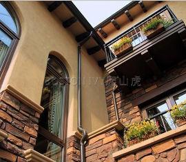 高层室外雨水管外墙用排水管金属方形雨水管