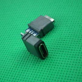 产地直销现货USB座子Type-C充电接口USB注塑电线连接器防水连接器