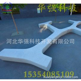 专业制作玻璃钢景观坐凳 商场简约凳子摆件雕塑,厂家直销