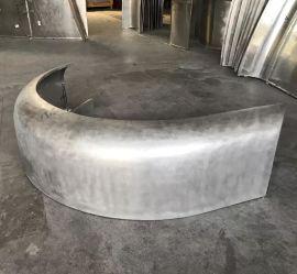弧形铝单板厂家定制建筑装饰材料造型异型金属漆铝单板