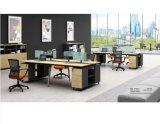 厂家定做各种办公屏风,职员卡位,屏风桌椅. 职员办公桌四人位