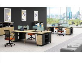 廠家定做各種辦公屏風,職員卡位,屏風桌椅. 職員辦公桌四人位