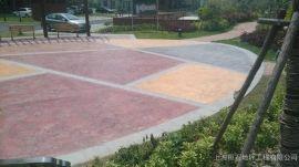 桓石2017142仿石压模地坪,仿木压模地坪,彩色压模地坪