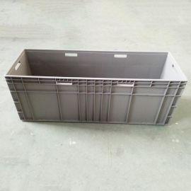 塑料大号箱,塑料灰色物流箱,塑料加厚周转箱