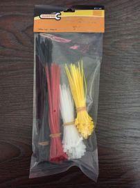 厂家特价直销4*200尼龙扎带 耐寒塑料扎带捆绑带束线带绑扎带