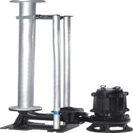 管道式污水泵 污水排污泵 天津耦合器污水泵