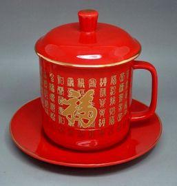 供应中国红陶瓷茶杯 骨瓷红茶杯价格