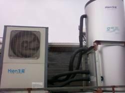 生能空气能热水器 员工宿舍澡堂热水工程 KFXPS-45|| 15匹高效