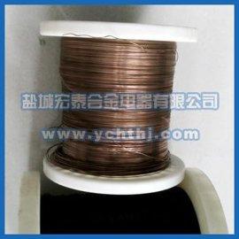 【现货供应】1.0mm;6j12软态锰铜丝
