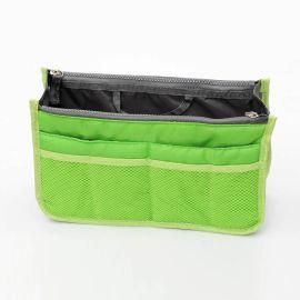 时尚洗漱化妆包, 包中包批发定制, 双拉链化妆包