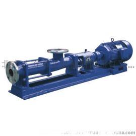 污泥螺杆G单螺杆泵